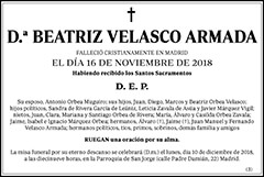 Beatriz Velasco Armada